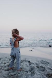 Castle Rock Beach, wearing @daughter.co