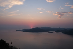 Sunrise on Ithaca